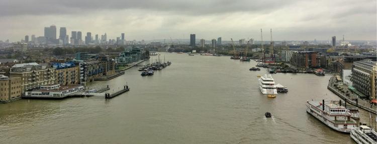 Londres desde el Tower Bridge