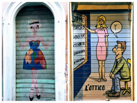Street Art - Roma - Persianas