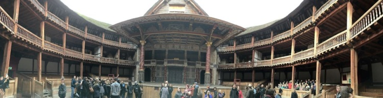 The Globe - Londres - Panorámica HQ