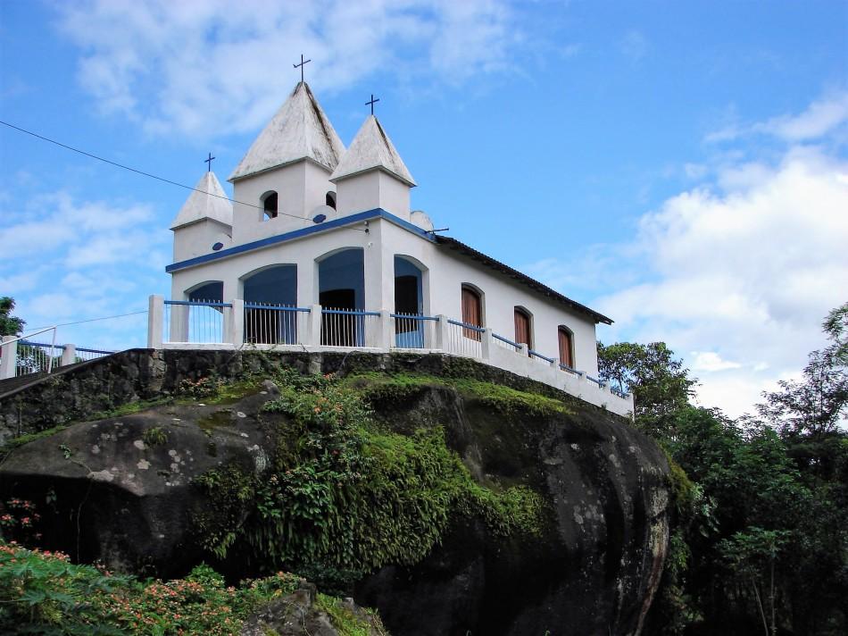 Igreja Nossa Senhora da Penna - Paraty-Cunha - Cachoeiras da Toboga - Brasil