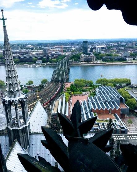 Colonia desde la catedral